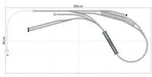 Fleischmann Nebenbahn 200x90 Ebene 3