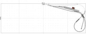 Gleisplan Fleischmann Spur N 350x120 Ebene 3